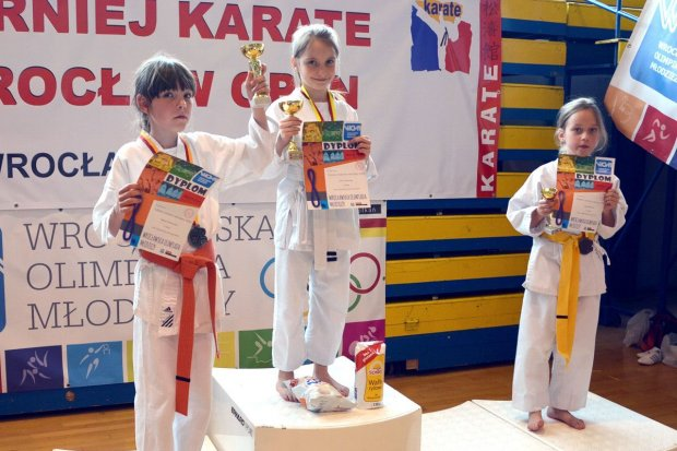 Cztery medale karateków TOP Bolesławiec