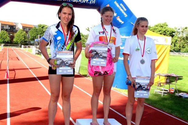 Drugie miejsce Klaudii Petters w Grand Prix Polski w Triathlonie