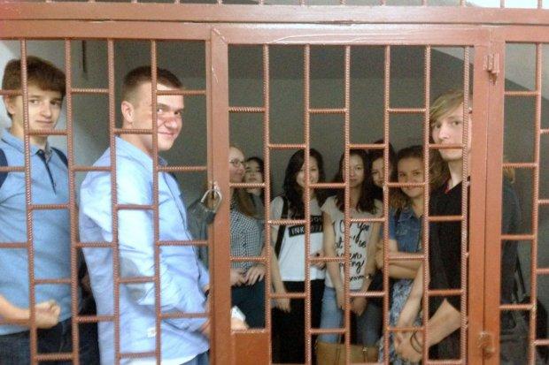 Uczniowie II LO w sądzie