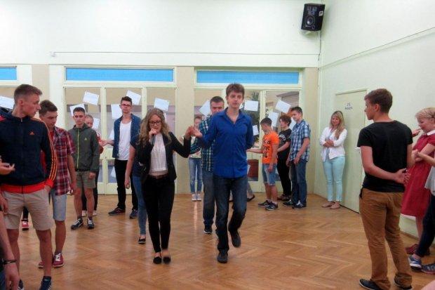 Uczniowie z Ukrainy w II LO