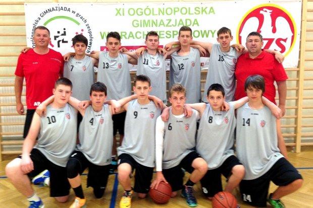 Koszykarze z GS nr 1 w Bolesławcu na ósmym miejscu w Polsce