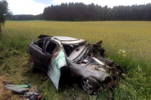 Śmiertelny wypadek pod Godzieszowem. 21-latek nie żyje