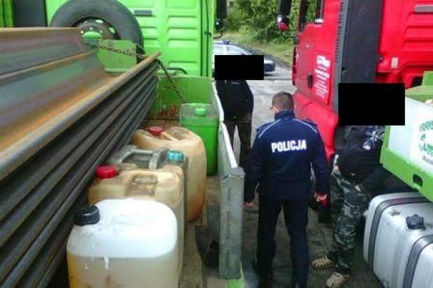 Ukradli 100 l paliwa ze służbowych TIR-ów
