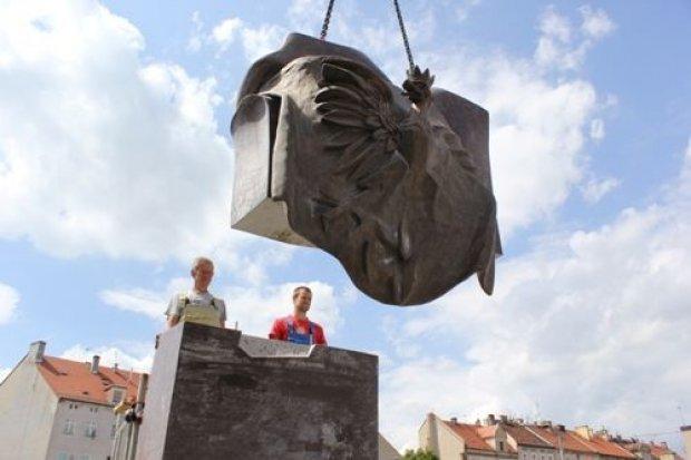 Pomnik Zesłańcom Sybiru na ukończeniu