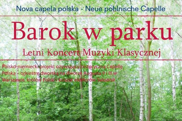 Nova Capela Polska: Barok w parku
