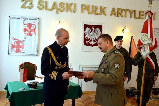 Daleka podróż kapelana 23 Śląskiego Pułku Artylerii