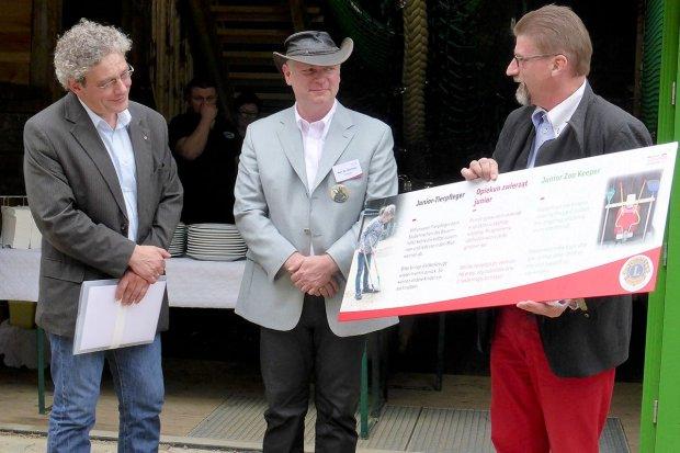 Trójjęzyczne Nasze Zoo dzięki wsparciu Klubu Lions Görlitz
