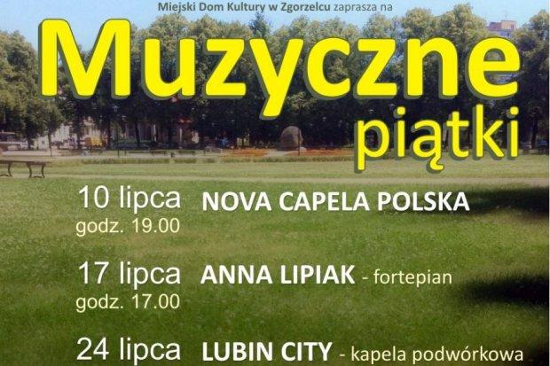 Muzyczne piątki na skwerze ks. Popiełuszki