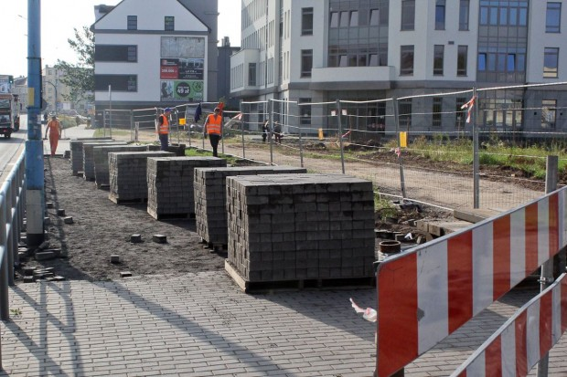 Poszerzają ulicę Wrocławską