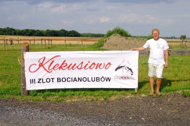 Miłośnicy bocianów spotkali się w Tomaszowie Bolesławieckim