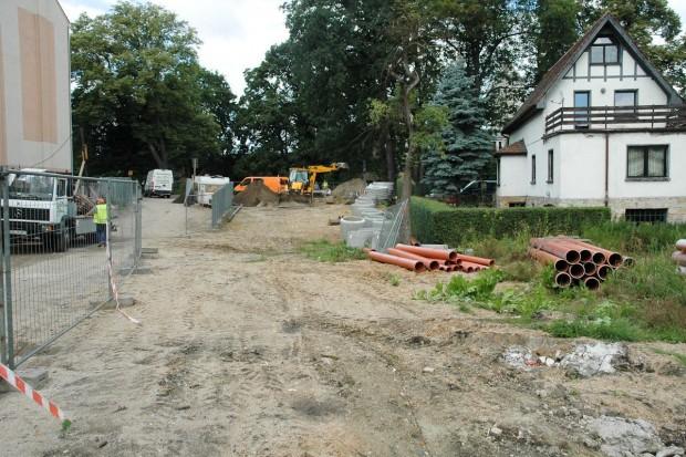 Budowa drogi wewnętrznej