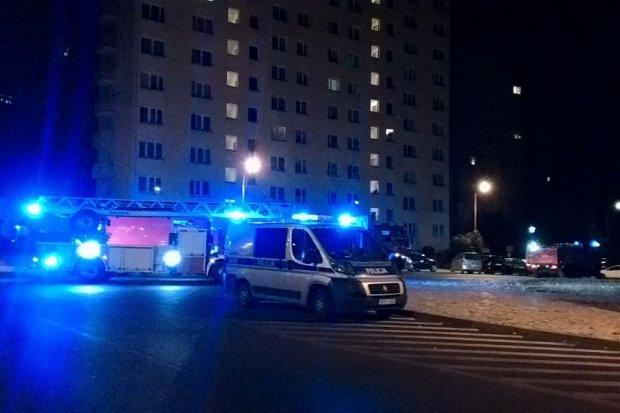 Próba podpalenia mieszkania przy Bielskiej, w środku byli ludzie