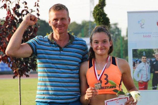 Dominika Kwaszcz mistrzynią Polski juniorek młodszych