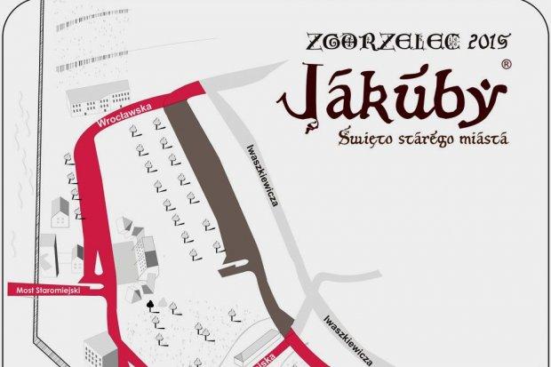 Jakuby 2015: utrudnienia w rejonie Przedmieścia Nyskiego
