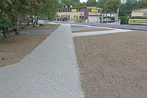 Nowy chodnik na ul. Struga