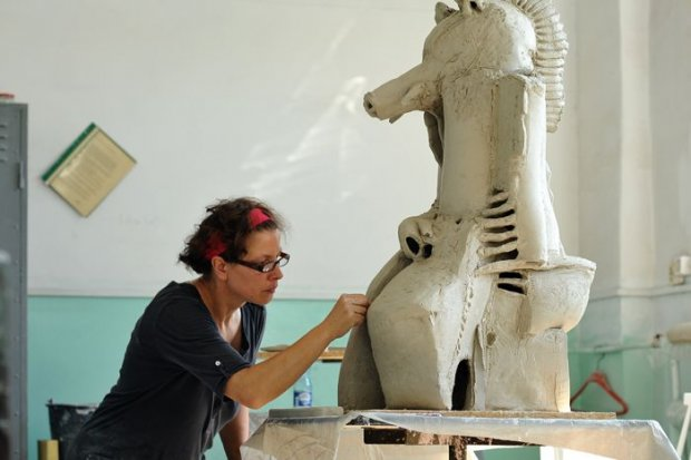 Pożegnaliśmy się z uczestnikami pleneru ceramiczno-rzeźbiarskiego