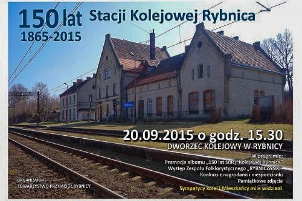 Jubileusz stacji kolejowej Rybnica
