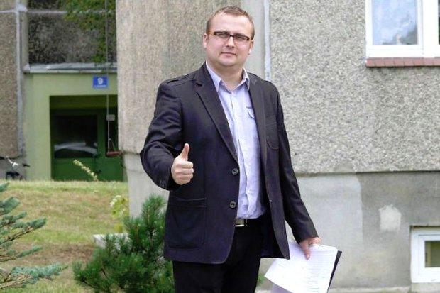 Wojciech Kasprzyk, kandydat Forum,  wygrał wybory w 10 okręgu