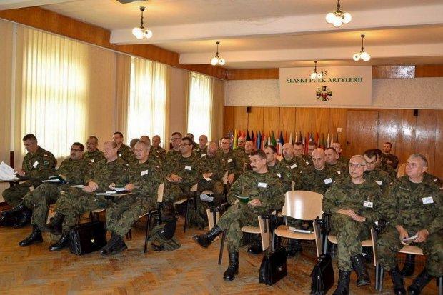 23 Śląski Pułk Artylerii: Kurs szkoleniowo-metodyczny kadry WRiA