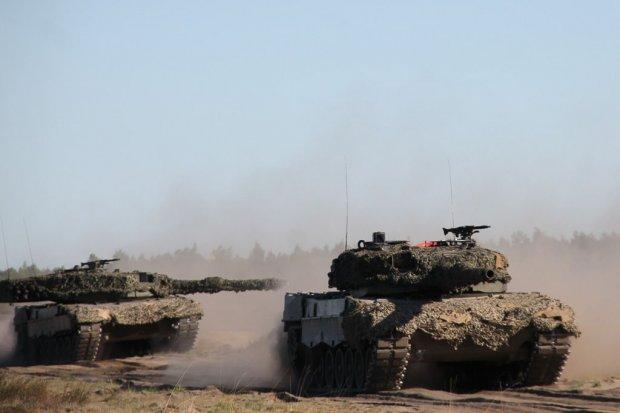 Pożar czołgu w Świętoszowie - czterej żołnierze ranni