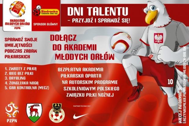 Piłka nożna: Dni Talentu – nabór do Akademii Młodych Orłów na sezon 2015/2016