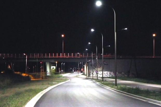 """Instalacja oświetleniowa na """"małej obwodnicy"""""""