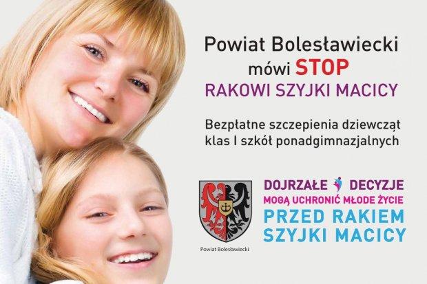 Bezpłatne szczepienie dla dziewcząt