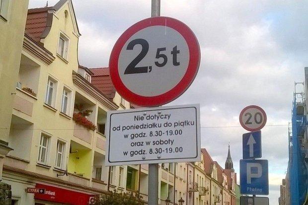 Czy można wjechać na ulicę Prusa?