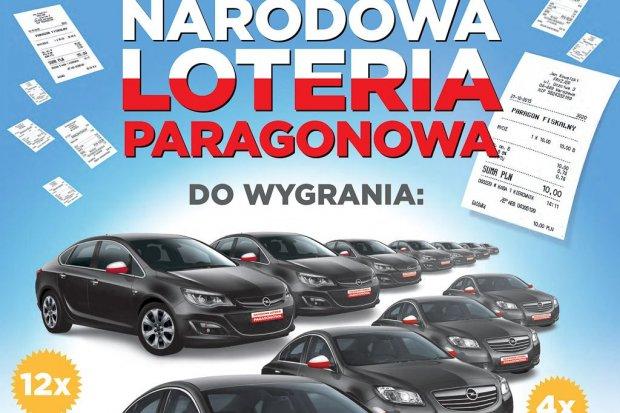 Weź udział w Narodowej Loterii Paragonowej. Do wygrania m.in. Ople i nowoczesne laptopy
