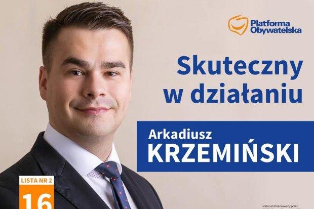 Wywiad z Arkadiuszem Krzemińskim kandydatem na posła
