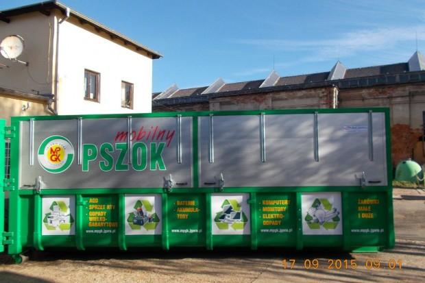 Mobilny PSZOK – zbiórka odpadów problemowych (Zabobrze i ul. Spółdzielcza)