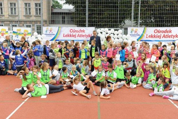 Lekkoatletyka dla każdego, czyli event międzyszkolny w SP 4 w Bolesławcu