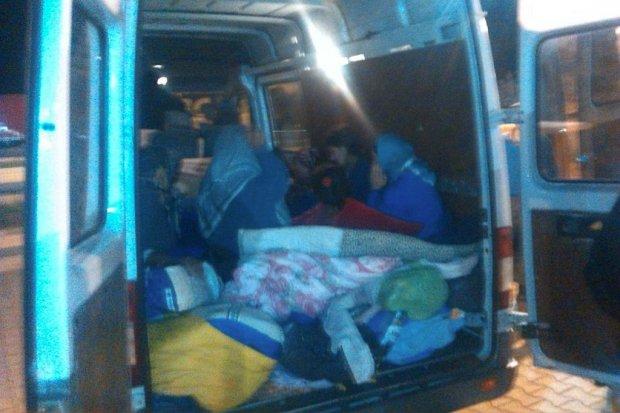 Straż Graniczna: 19 obywateli Rumunii w 3-osobowym busie na A4