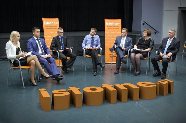 O czym ze sobą rozmawiali kandydaci na posłów?