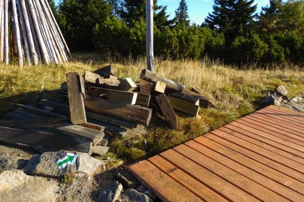 KPN: remont kładek drewnianych na tzw. Mokrej Drodze