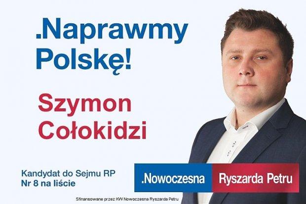 Rozmowa z Szymonem Cołokidzim – kandydatem na posła
