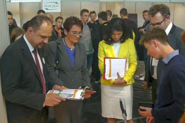 Uczniowie ZSE na Targach Zawodów Przyszłości, Innowacji i Eksportu w Jeleniej Górze