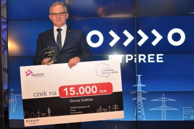"""Zwycięstwo Gminy Sulików w konkursie """"Samorząd Przyjazny Energii"""""""