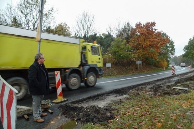 Rozpoczęła się budowa ciągu komunikacyjnego przy ul. Kościuszki