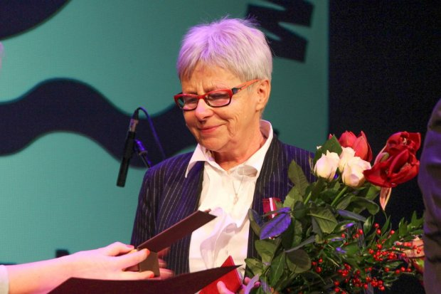 Krystyna Juszkiewicz dostała medal Gloria Artis