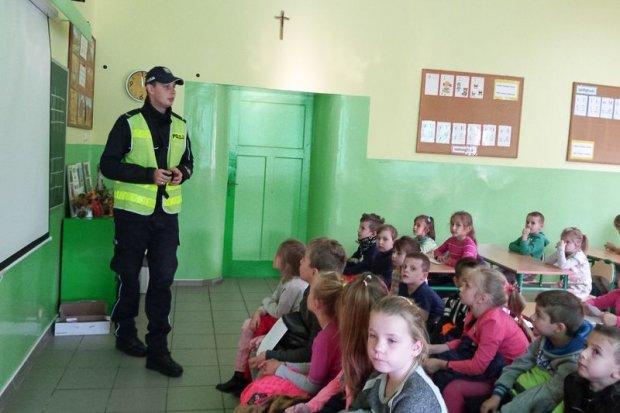 Pogadanka na temat bezpieczeństwa w SP w Prochowicach