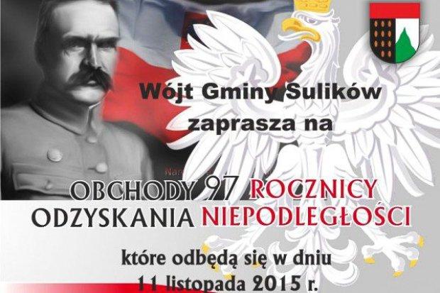 Gmina Sulików: obchody 97 rocznicy odzyskania Niepodległości