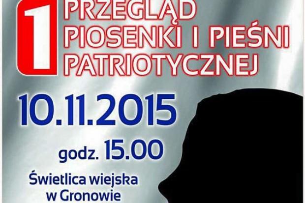 Przegląd Piosenki i Pieśni Patriotycznej w Gronowie