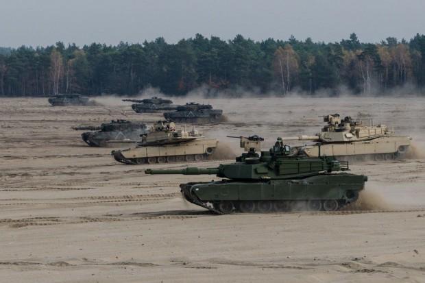 10 Brygada Kawalerii Pancernej w Świętoszowie: Polsko-amerykańskie szkolenie