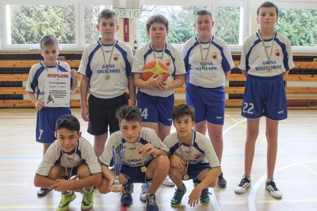Koszykarze z Kruszyna najlepsi w gminie