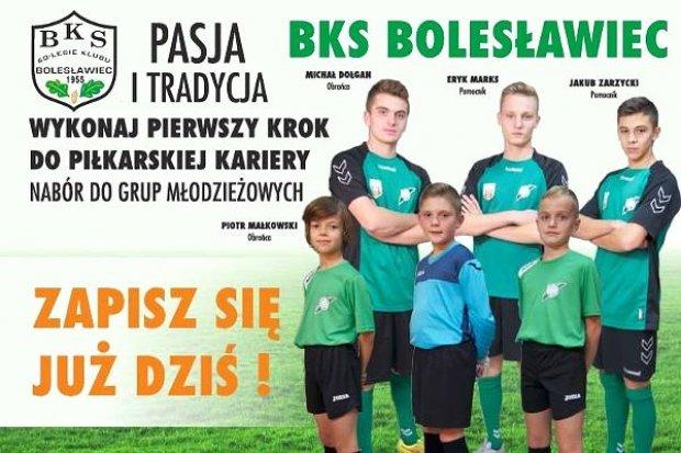 Zostań piłkarzem BKS Bolesławiec!