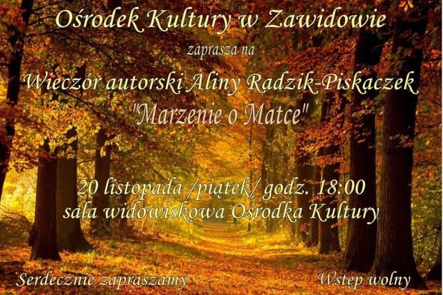 Wieczór autorski Aliny Radzik-Piskaczek