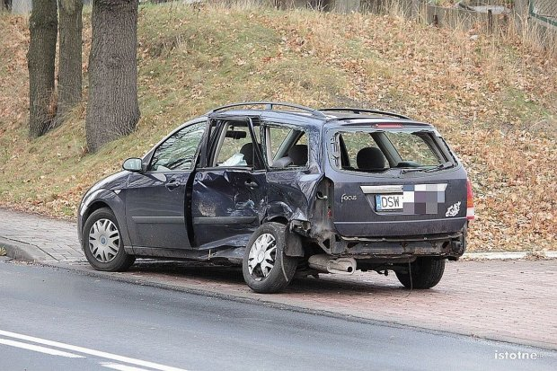 Znowu wypadek na Cieszkowskiego i Modłowej