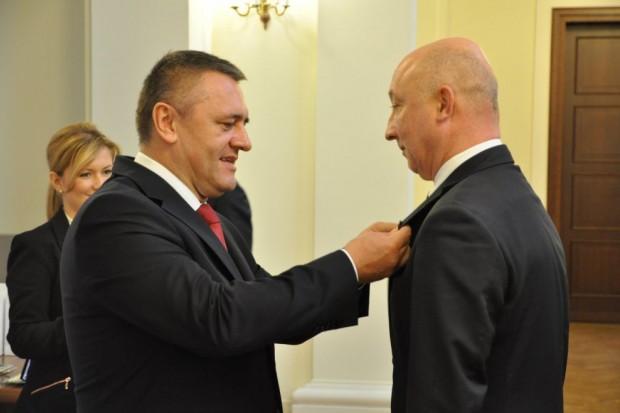 Starosta zgorzelecki Artur Bieliński odznaczony