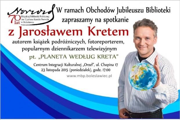 Jarosław Kret w Bolesławcu